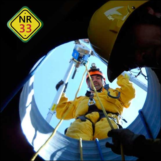 NR33 - Trabalhos em Espaços Confinados - Formação