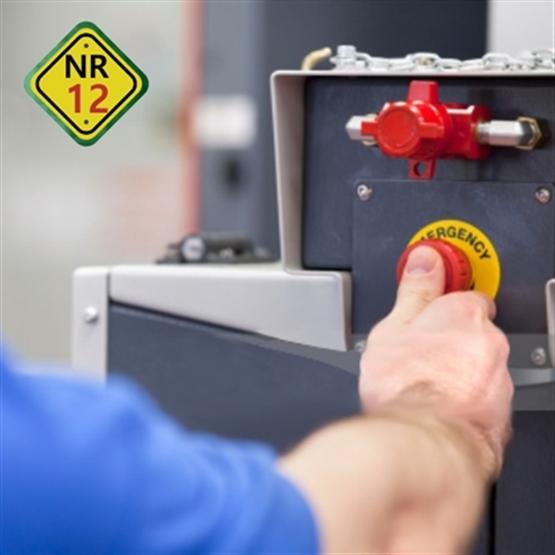 NR12 - Segurança no Trabalho com Máquinas e Equipamentos - Formação